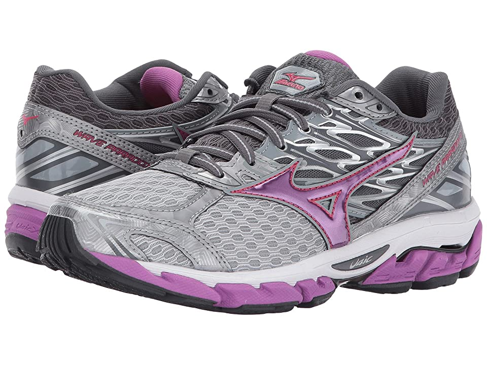 Mizuno Wave Paradox 4 (Griffin/Hyacinth Violet/Paradise Pink) Girls Shoes
