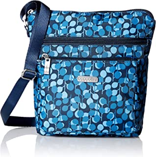 Baggallini Pocket Lightweight Crossbody Bag–Spacious, Water-Resistant Travel Purse.