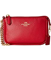 COACH - Pebble Leather Small Wristlet 15