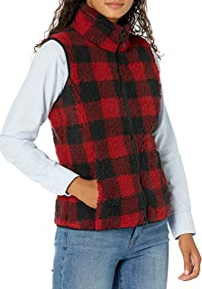 Amazon Essentials Women's Polar Fleece Lined Sherpa Vest