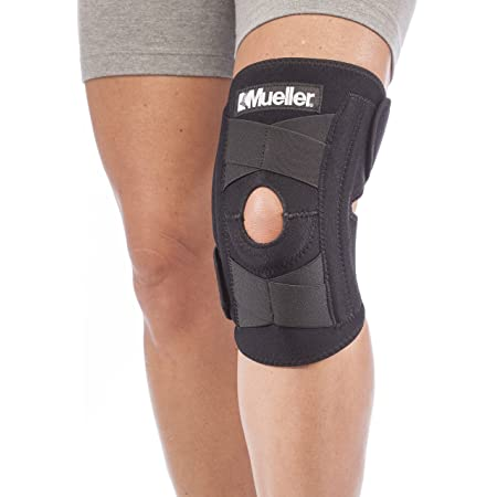 """Mueller Self-Adjusting Knee Stabilizer, Black, One Size Fits Most