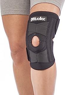 تثبیت کننده زانو خود تنظیم کننده اسپرت پزشکی مولر ، سیاه و یک اندازه بیشتر مناسب است