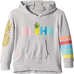 Chaser Kids Love Knit Aloha Pina Pocket Hoodie (Toddler/Little Kids)