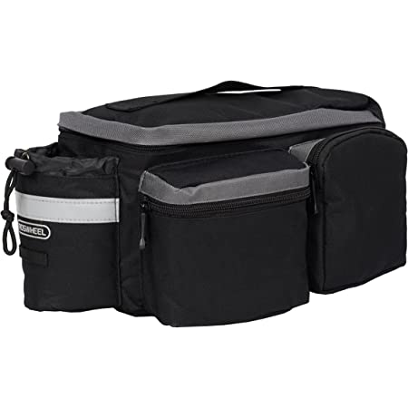 AthenaShoppe Bike Trunk Bag 68L Extensive Large Capacity Bicycle Rear Seat Pannier as Commuter Bag Luggage Carrier