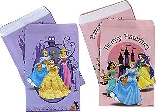 PMG Halloween Paper Favor & Treat Bags, Disney Princesses 120-Count