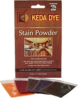 Wood Dye - Aniline Dye 5 Color Kit - Wood Stain Kit