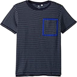 Slater Striped Pocket Tee (Big Kids)
