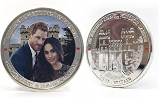 2018 Royal Wedding of Prince Harry and Meghan Markle Uncirculated Commemorative Coin