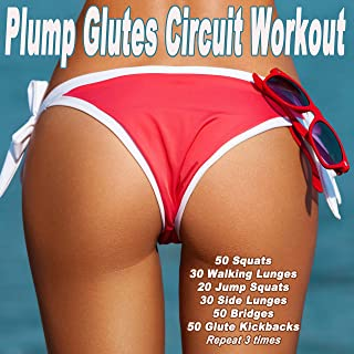 Plump Glutes Circuit Workout (140 Bpm) & DJ Mix (Motivational Music for Squats, Walking Lunges, Jump Squats, Side Lunges, Bridges & Glute Kickbacks)