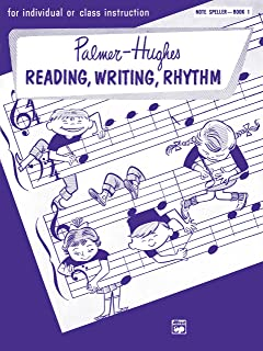 Palmer-Hughes Accordion Course Reading, Writing, Rhythm (Note Speller), Bk 1: For Individual or Class Instruction