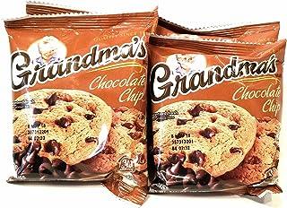 Grandma's Cookies Chocolate Chip Flavored 8 Packs 2 Per Pack