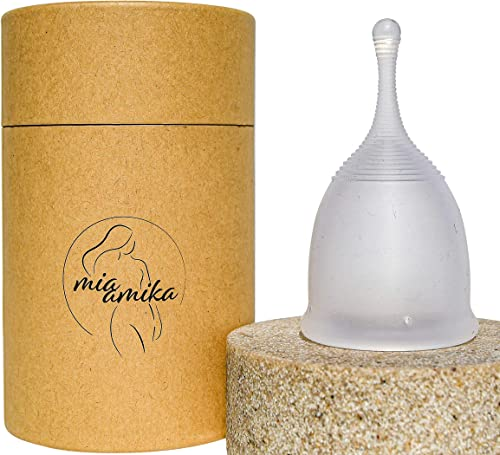 Mia Amika Menstrual Cup, 100% Aussie Women Owned, 2 SIZES, Best Period Cup, Sanitary Cup, Eco-Friendly Period, FDA Ce...