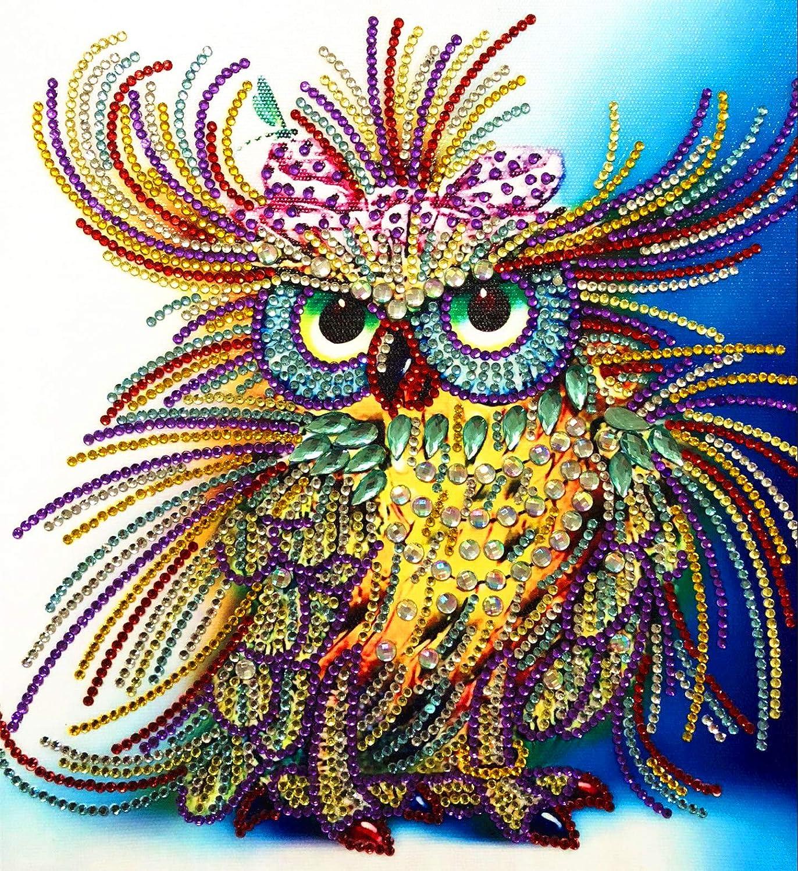 5D Diamond Painting Embroidery Cross Craft Stitch Kit Home Art Decor DIY Gift US