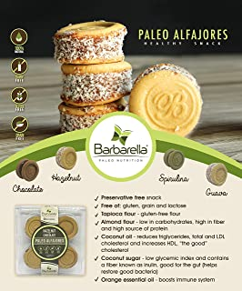 Paleo Guava Alfajores, 12 Cookies (Pack of 2). 24 Alfajores in total