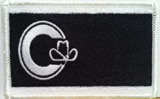 Calgary Flag Tactical Iron on Patch Alberta Province Canada Military Emblem #8760