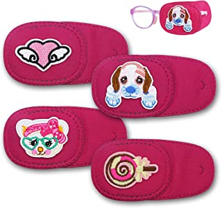 Astropic 4Pcs Eye Patches for Kids Girls Boys Eye Patch for Glasses Medical Patches for Adults Children with Lazy Eye Ambl...