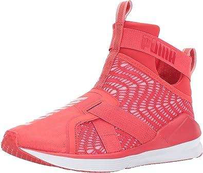 Amazon.com | PUMA Unisex-Adult Fierce Strap Swirl Wn Sneaker ...