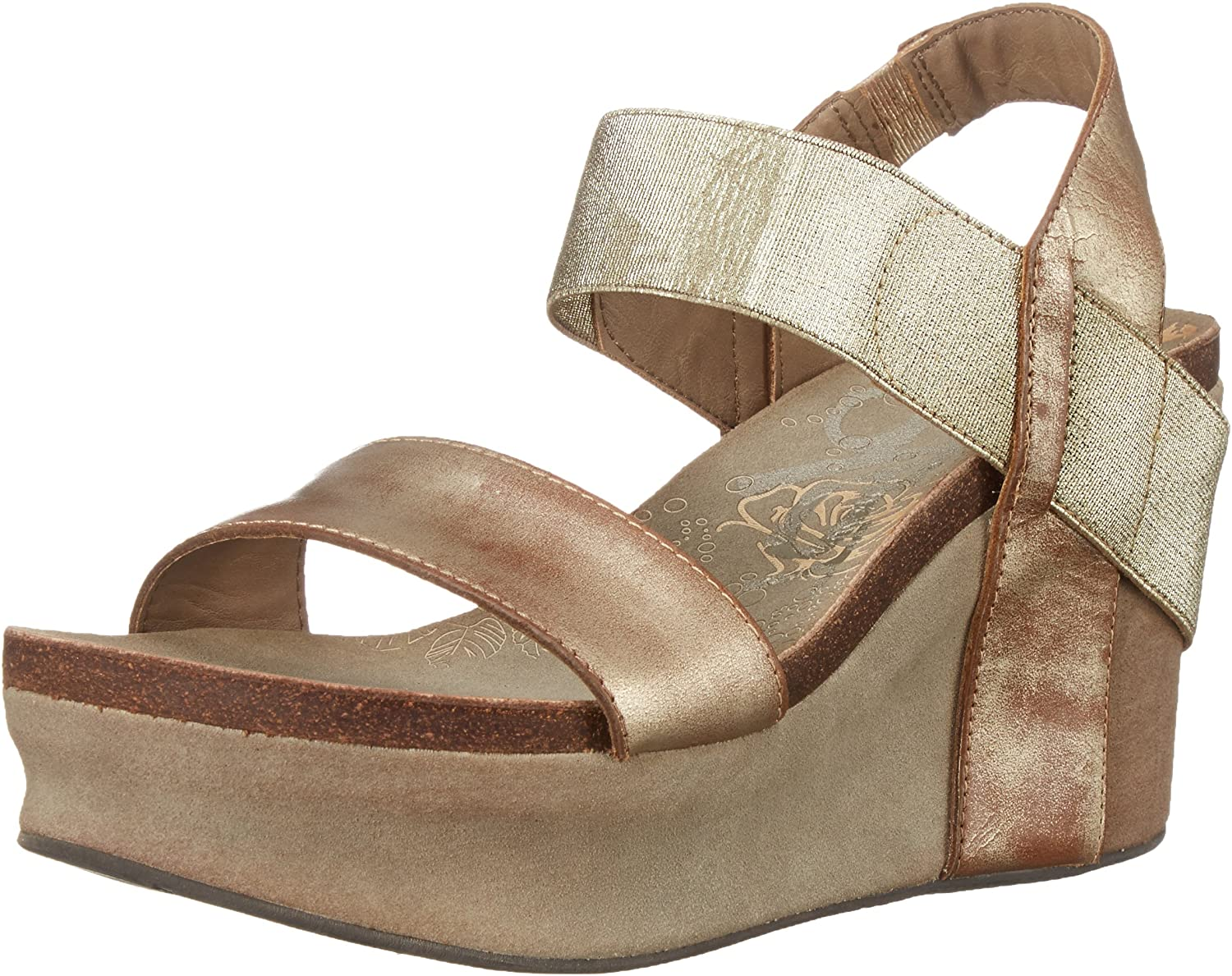 OTBT Women's Bushnell 70% OFF Attention brand Outlet Wedge Sandals