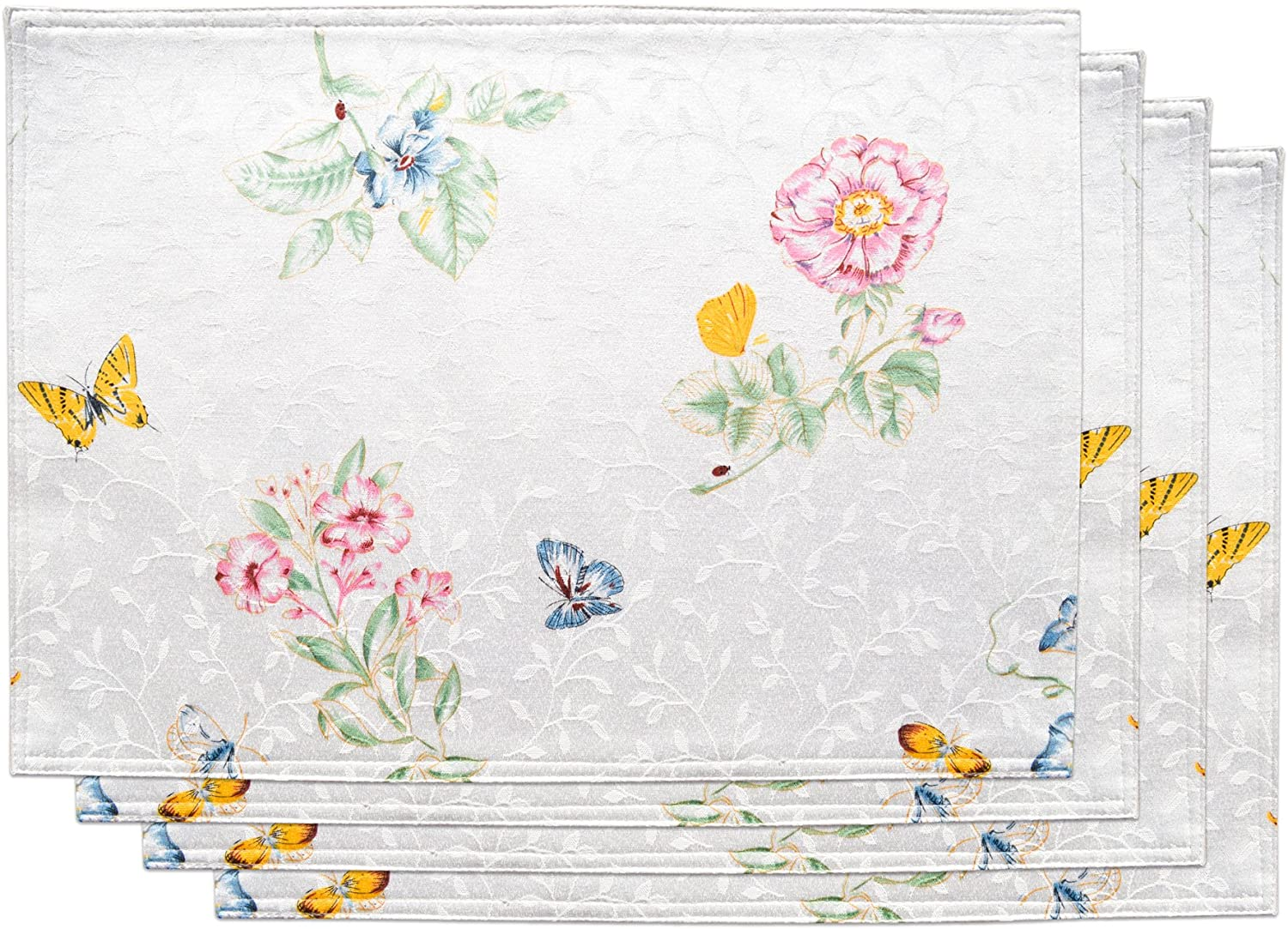 Lenox Butterfly Meadow Set of Max 54% OFF 2021 autumn and winter new 4 Placemats