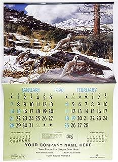 Vintage 1990 2018 David Maass Wilderness Wings Large Format Calendar