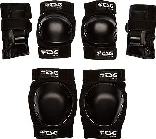 TSG - Basic-Set - Pads for Skateboard (Black,  S)