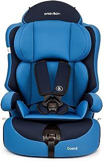 Babylon Guard Silla de Coche Bebe para Niños 9-36 Kg Grupo 1-2-3, Fabricada en Europa, Azul