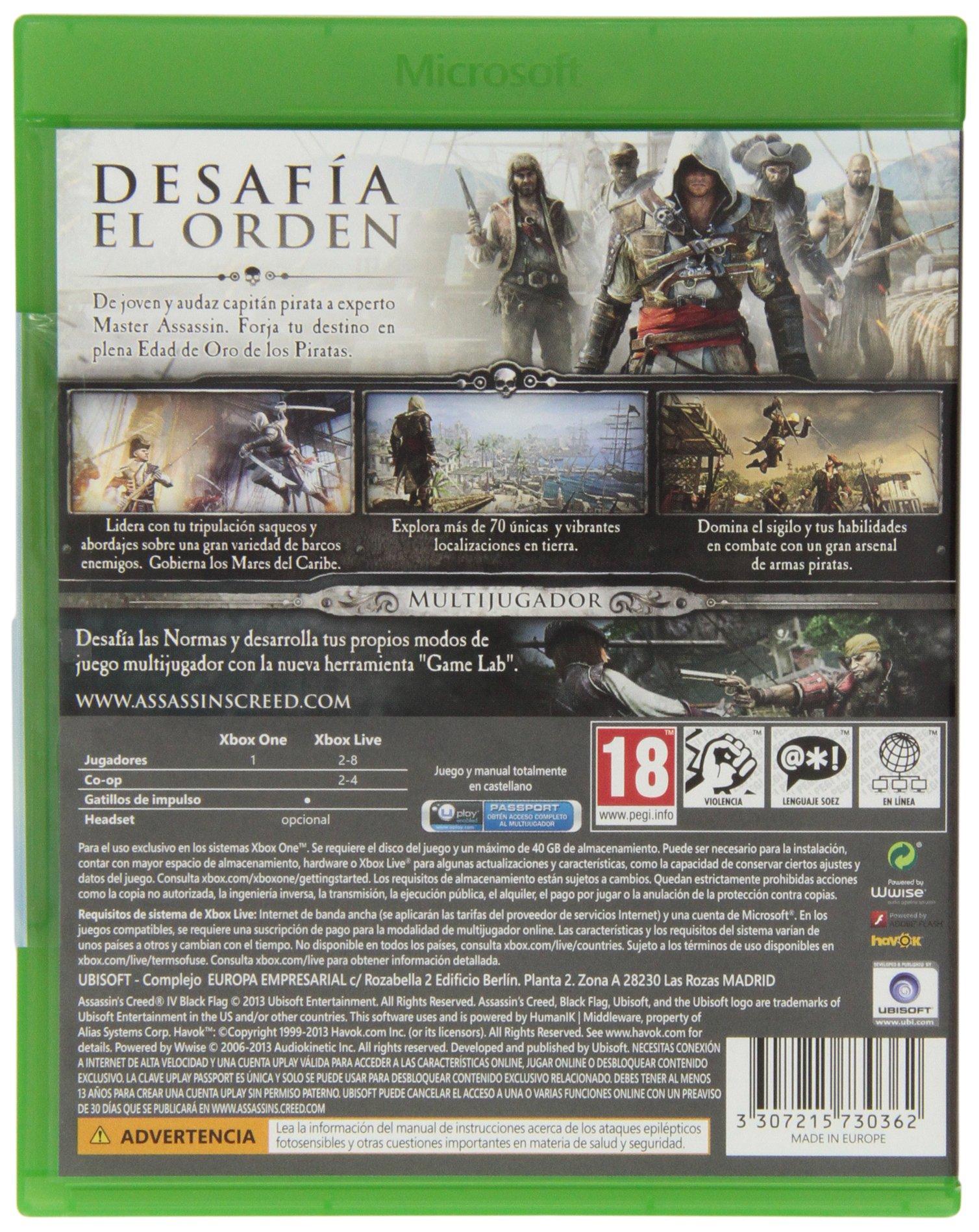 Assassins Creed 4: Black Flag: Amazon.es: Electrónica
