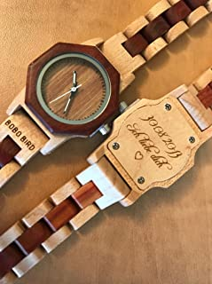 Amazon com: wooden watch: Handmade Products