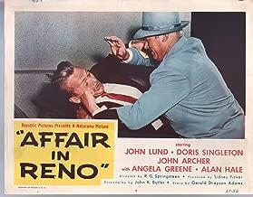 MOVIE POSTER: Affair In Reno-John Lund-John Archer-Lobby Card