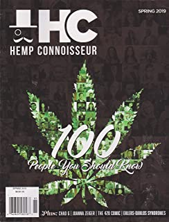 THC Hemp Connoisseur Magazine Spring 2019