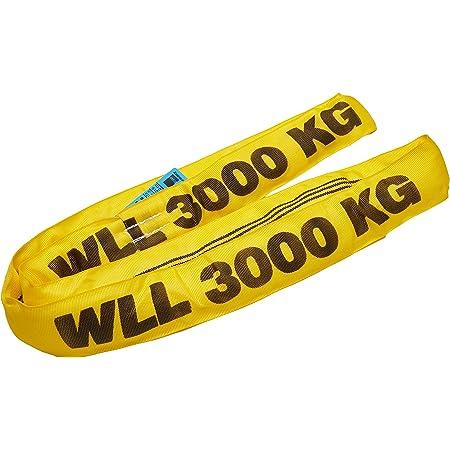 Rundschlinge 2000 kg 2 to gr/ü n 2 m Umfang Hebeband Hebeschlinge Kran Hebegurt Baumarktplus