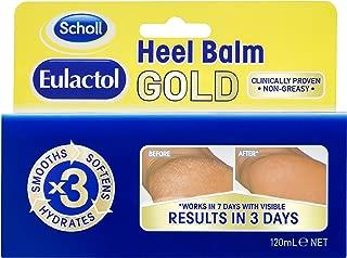 Scholl Eulactol Cracked Heel Balm Gold, 120 Millilitres