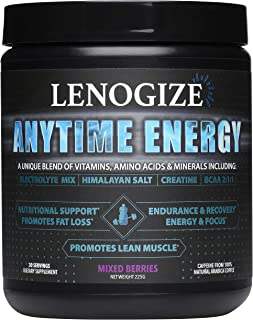 Pre Workout Powder, Post Workout Recovery Drink, Keto-Friendly, Amino Energy, BCAA Energy, Sugar Free, Energy Powder, BCAA...