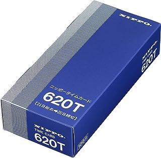 ニッポー タイムカード NTR-2500、2700用 620T(20日締)