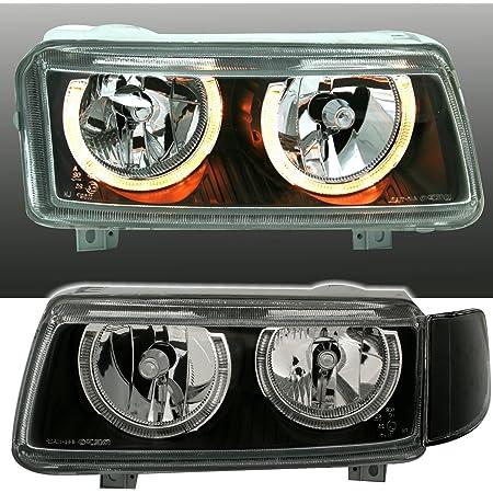Ad Tuning Depo Angel Eyes Scheinwerfer Set Klarglas Chrom Mit Standlichtringen Auto