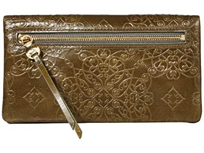 Hobo Lumen (Embossed Mistletoe) Wallet Handbags