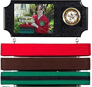 Dutch Touch Creations Martial Arts Belt Display. Expandable to Hold All Your Belts ! Concave Style.