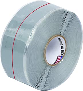 E/FUSING 112 - Flame Resistant High Temperature Silicone Electrical Insulation Tape 1 in x 30 ft