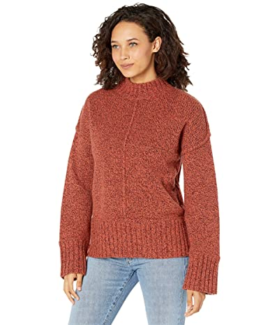 Smartwool Bell Meadow Sweater (Woodsmoke/Ginger Heather Marl) Women