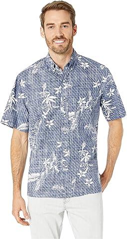 Washed Waiola Classic Fit Hawaiian Shirt