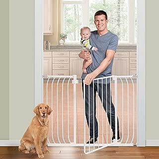 Summer Multi-Use Extra Tall Walk-Thru Baby Gate, White