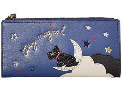 Radley London Stay Magical Large Bifold Matinee (Sapphire) Wallet Handbags