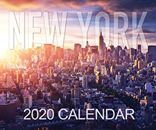 new york desk calendar