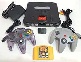 Nintendo 64 Console With Donkey Kong 64 Game & 2 Controllers