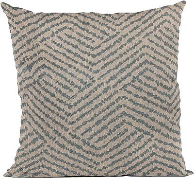 The Pillow Collection Bloem Chevron Marigold Down Filled Throw Pillow