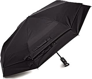 Luggage Windguard Auto Open/Close Umbrella, Black