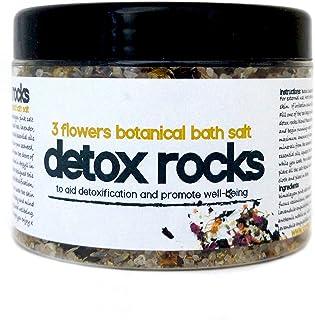 Detox rocas Sales de baño * Un therapuetic tres flores bañ
