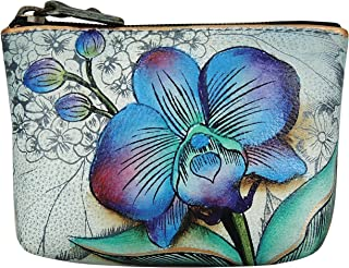 Women's Leather Coin Purse | Genuine Soft Leather | Hand-painted Original Art