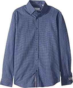 Robert Graham - Tone On Tone Textured Solid Dress Shirt