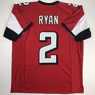 Unsigned Matt Ryan Atlanta Red Custom Stitched Football Jersey Size Men's XL New No Brands/Logos